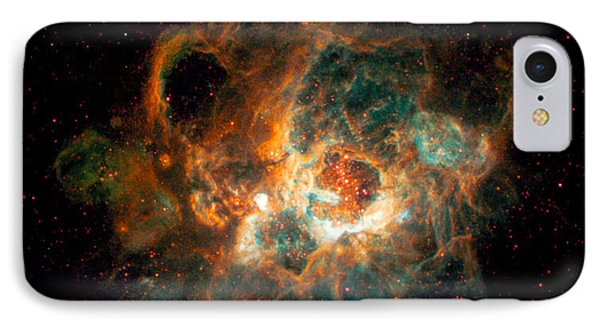 Nebula In Galaxy M33 IPhone Case by Space Telescope Science Institute  NASA