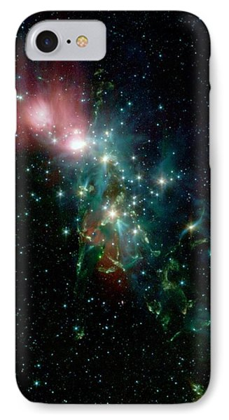 Nebula Ngc 1333 In The Constellation Perseus IPhone Case by American School