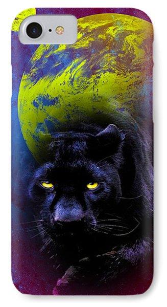 Nebula's Panther IPhone Case