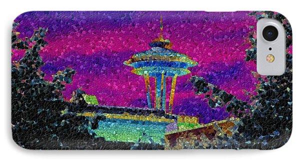 Needle In Mosaic 2 Phone Case by Tim Allen