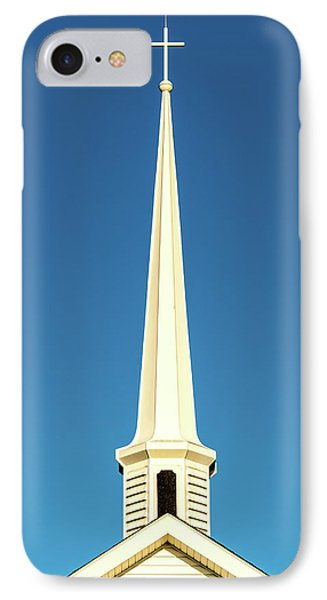 IPhone Case featuring the photograph Needle-shaped Steeple by Onyonet  Photo Studios
