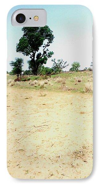 Neem Tree At Farm IPhone Case