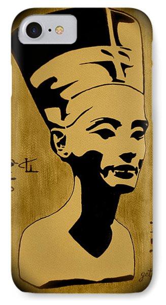 Nefertiti Egyptian Queen Phone Case by Georgeta  Blanaru