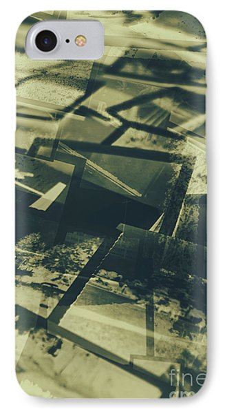 Negative Photos In Dark Room IPhone Case