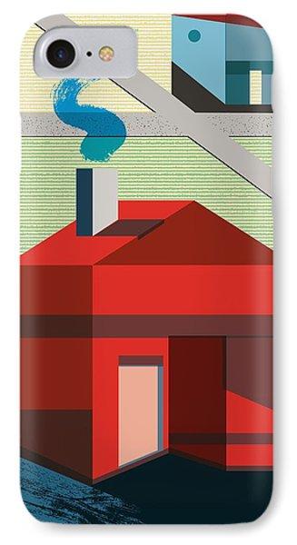 Neighborhood IPhone Case by Benjamin Gottwald