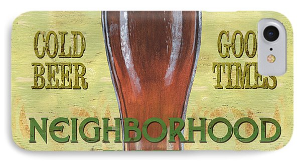 Neighborhood Pub IPhone Case