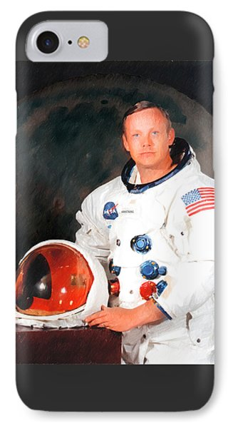 Neil Armstrong Phone Case by Ericamaxine Price