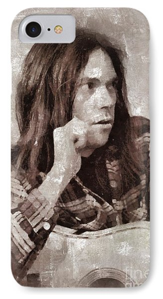 Neil Young By Mary Bassett IPhone 7 Case