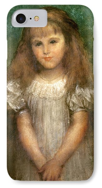 Nellie Ionides IPhone Case by George Frederick Watts