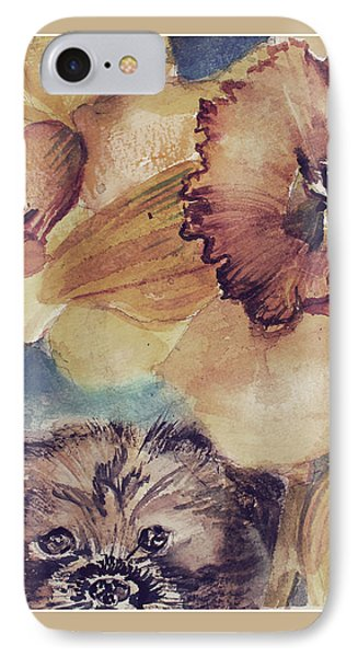 IPhone Case featuring the painting Nellie Mae by Mindy Newman