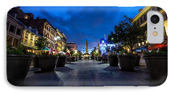 Nelsons Column IPhone Case by James Wheeler