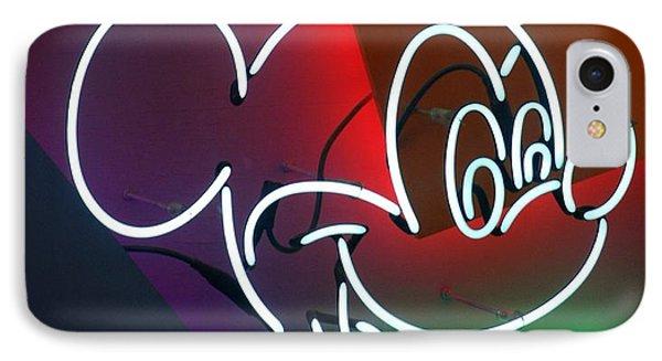 Neon Mickey IPhone Case