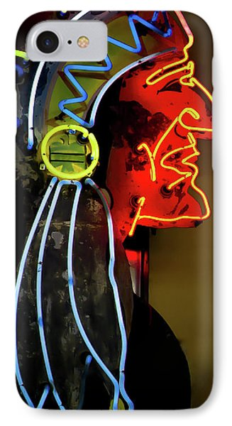 Neon Navajo IPhone Case by David Patterson