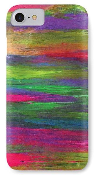 Neon Rainbow IPhone Case