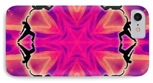 Neon Slipstream IPhone Case by Derek Gedney