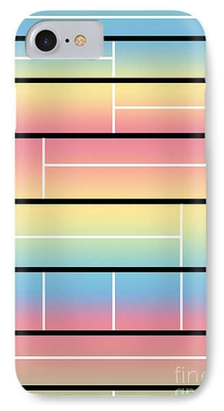 Neoplasticism 9 IPhone Case by Paula D