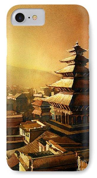 Nepal Temple IPhone Case