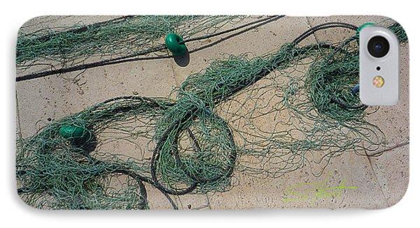 Neptune Green Phone Case by Charles Stuart