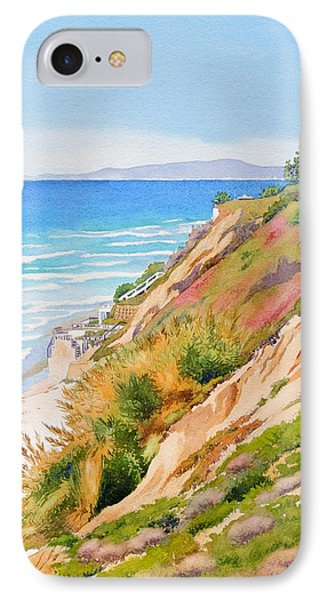 Pacific Ocean iPhone 7 Case - Neptune's View Leucadia California by Mary Helmreich