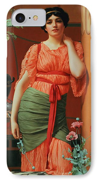 Nerissa Phone Case by John William Godward