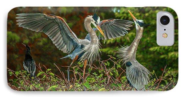 Nest Landing IPhone Case