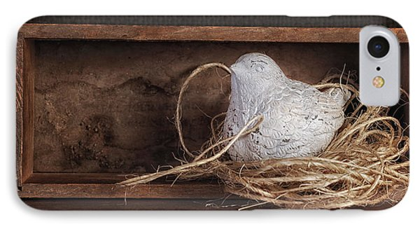Nesting Bird Still Life II IPhone Case by Tom Mc Nemar