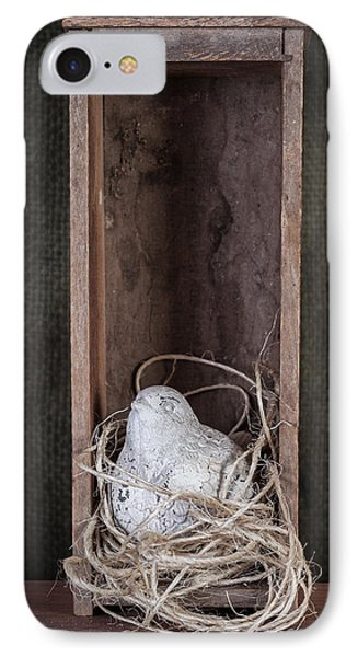 Nesting Bird Still Life IPhone Case by Tom Mc Nemar