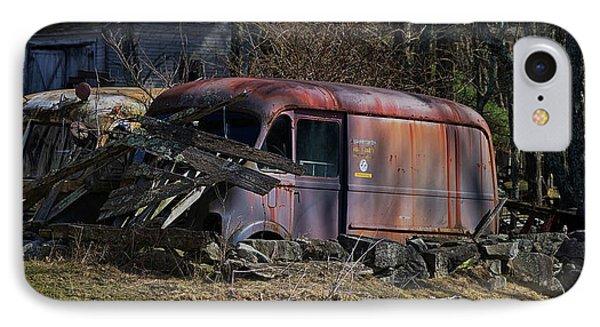 Truck iPhone 7 Case - Nesting by Jerry LoFaro