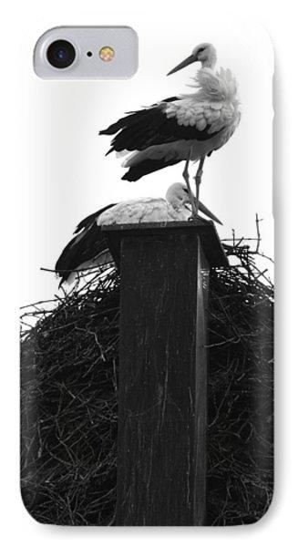 Nesting Storks IPhone Case