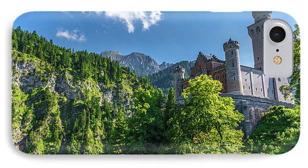 IPhone Case featuring the photograph Neuschwanstein Castle by David Morefield