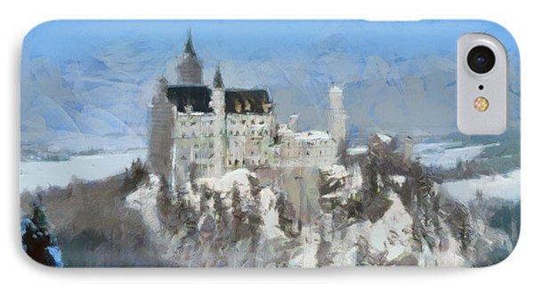 Neuschwanstein Castle IPhone Case by Sergey Lukashin