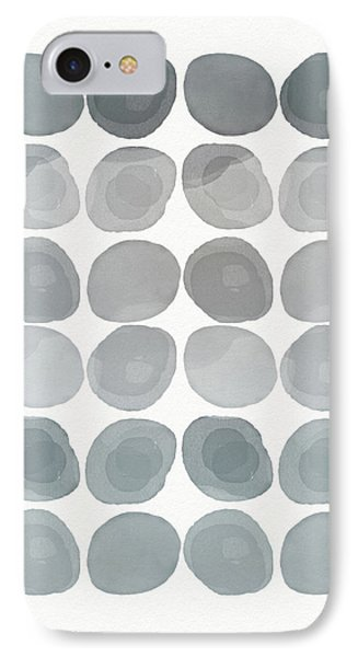 Neutral Stones- Art By Linda Woods IPhone Case