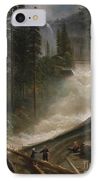 IPhone Case featuring the photograph Nevada Falls Yosemite                                by John Stephens