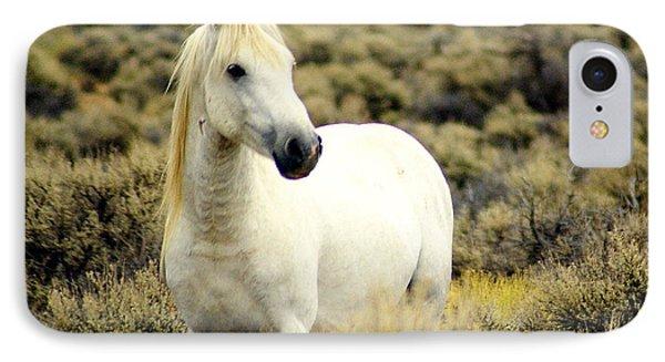 Nevada Wild Horses 3 Phone Case by Marty Koch