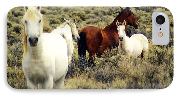 Nevada Wild Horses Phone Case by Marty Koch