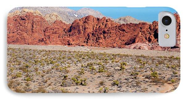 Nevada's Red Rocks Phone Case by Rae Tucker