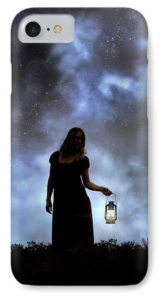 Never Alone In The Dark IPhone Case by Joana Kruse