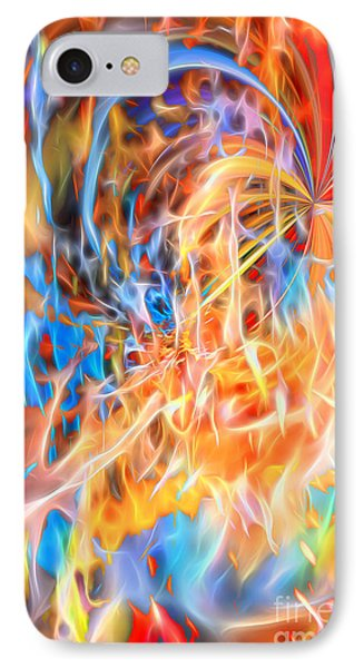 IPhone Case featuring the digital art Never Ending Worship by Margie Chapman