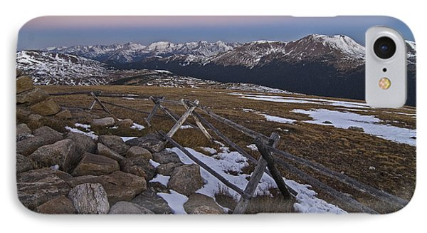 IPhone 7 Case featuring the photograph Never Summer Range by Gary Lengyel