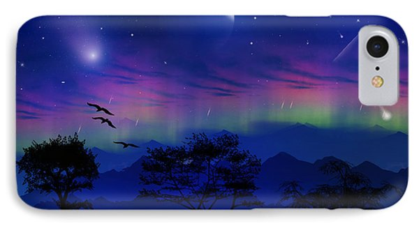 IPhone Case featuring the photograph Neverending Nights by Bernd Hau
