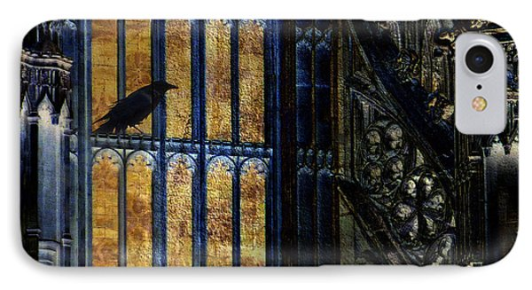 IPhone Case featuring the photograph Nevermore by LemonArt Photography