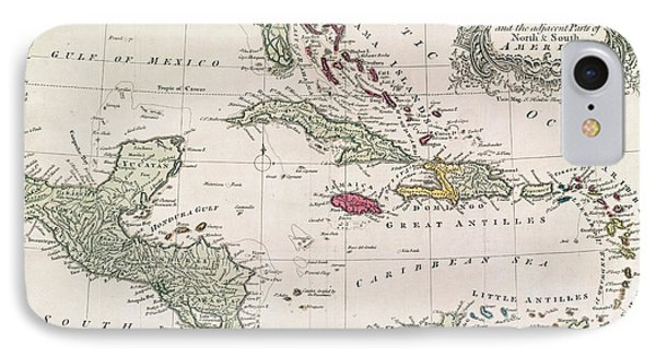 New And Accurate Map Of The West Indies IPhone Case by American School