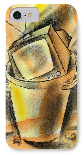 New And Old Technology IPhone Case by Leon Zernitsky