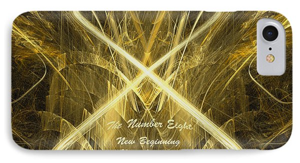 IPhone Case featuring the digital art New Beginning by R Thomas Brass