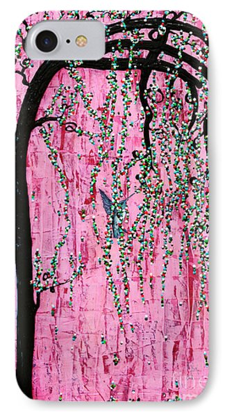 IPhone Case featuring the painting New Beginnings by Natalie Briney