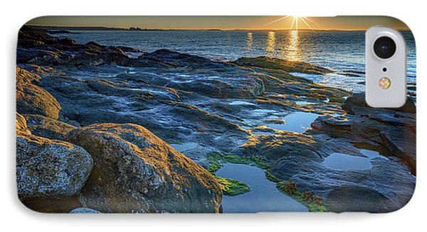 New Beginnings On Muscongus Bay IPhone Case by Rick Berk