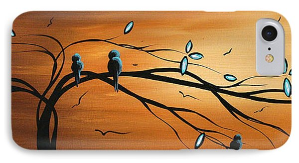 New Bloom By Madart Phone Case by Megan Duncanson
