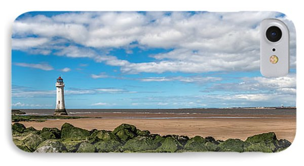 New Brighton Lighthouse  IPhone Case by Adrian Evans