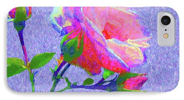 New Dawn Painterly IPhone Case by Susan Lafleur
