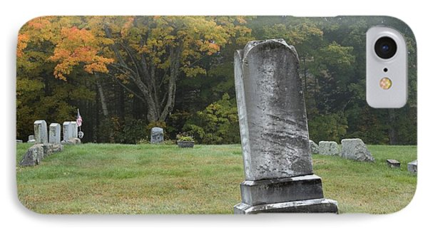 New England Graveyard During The Autumn  Phone Case by Erin Paul Donovan
